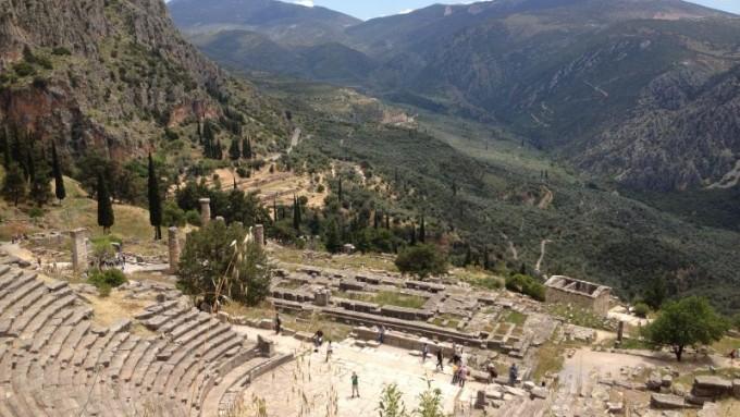Delfos. Viajes a Grecia Tarannà