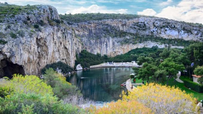 Lago de Vouliagmeni. Viajes a Grecia Tarannà