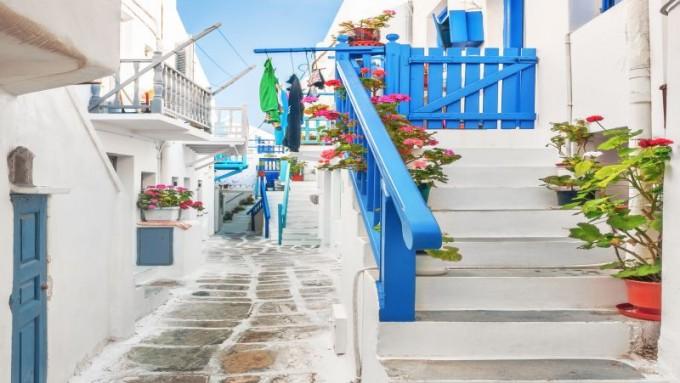 Mikonos (Mykonos). Viajes a Grecia Tarannà