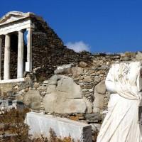 Excursión a las islas griegas Delos y Mykonos