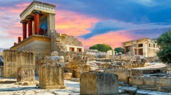 Viaje a Grecia. En Grupo. Creta con Carles Buenacasa