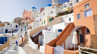 Viajes a Grecia. Luna de miel